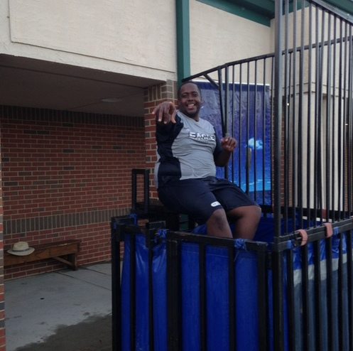 Danzy in the Dunking Booth